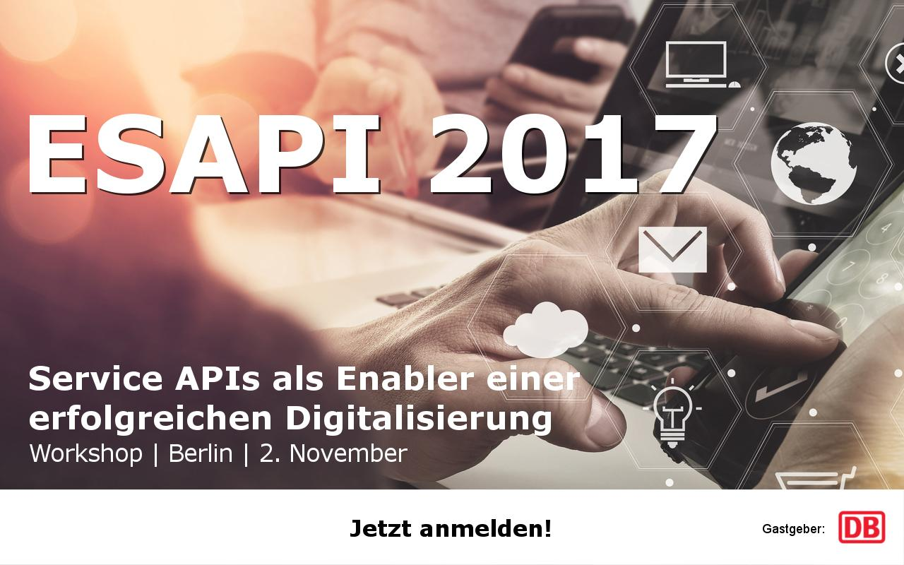 Evaluation of Service APIs 2017